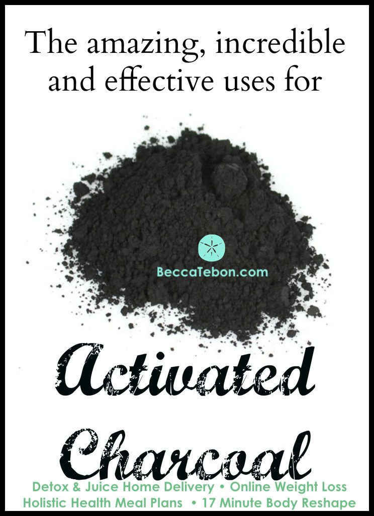 Benefits of Activated Charcoal & How To Use - BeccaTebon com