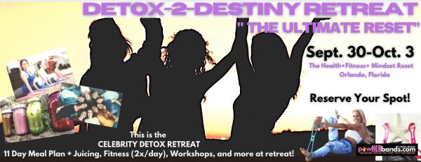 Detox-2-Destiny Retreat
